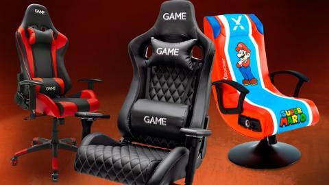 Mejores sillas gaming en GAME