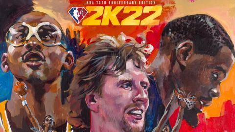 NBA 2K22 Portada