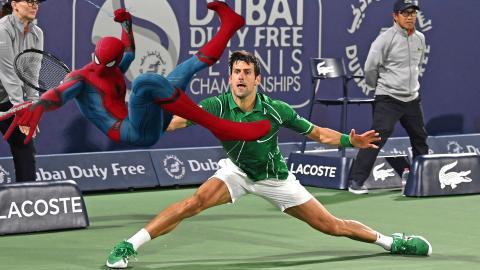 Novak Djokovic - Spider-Man