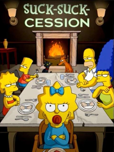 Nuevos pósteres promocionales de Los Simpson parodiando otras series de éxito