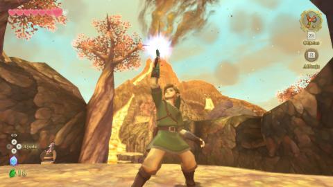Zelda Skyward Sword HD embargo 14 julio