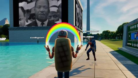 Fortnite - Martin Luther King