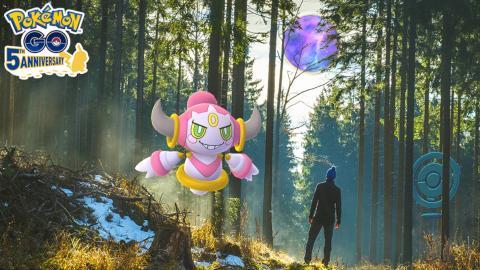 Pokemon Go hoopa