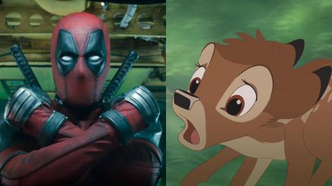 Ryan Reynolds revela que Disney le rechazó un alocado crossover entre Deadpool y Bambi