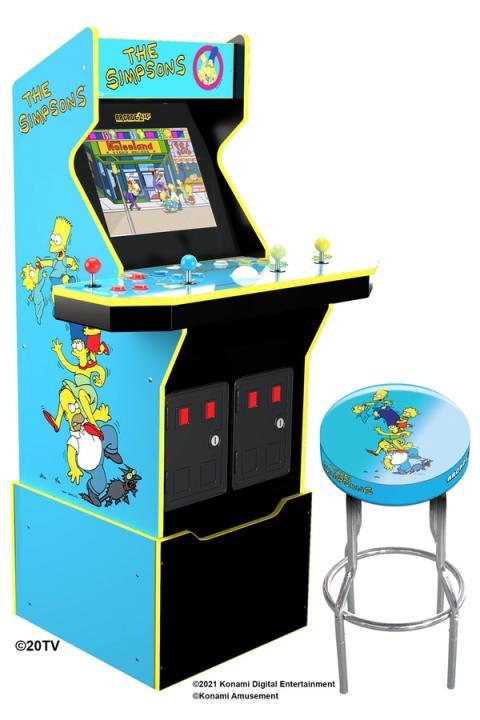 Los Simpson Konami