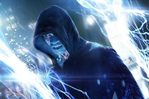 electro spider man Jamie Foxx