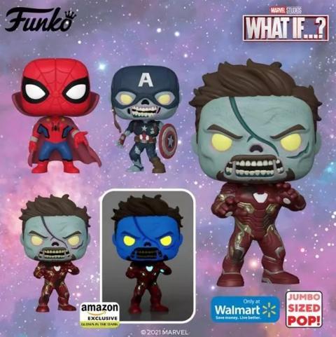 Figuras Funko Pop Marvel Zombies What If...?