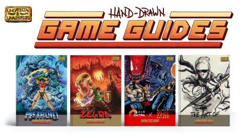 Hand-Drawn Game Guides - Manuales de juegos dibujados a mano