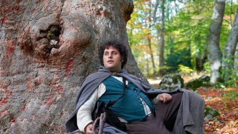 el señor de los anillos fan Nicolas Gentile  hobbiton