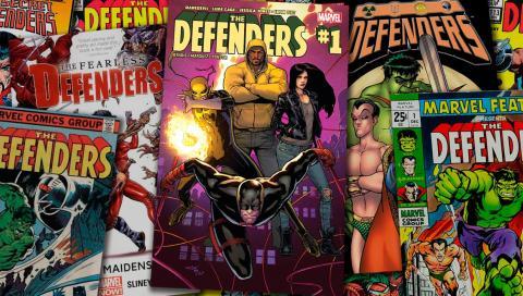 La historia de The Defenders