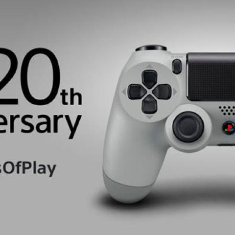 Dualshock 4 y Auriculares Edición 20 Aniversario, disponibles en septiembre