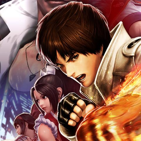 The King of Fighters XIV - Portada