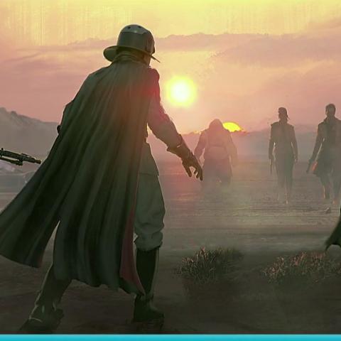 <div>Arte conceptual del juego de Star Wars de Visceral Games</div>