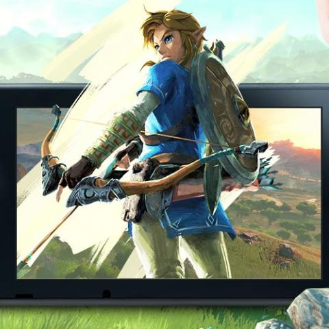 The Legend of Zelda Breath of the Wild en Nintendo Switch