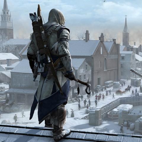 <div>Mientras nos encontramos a la espera de conocer más detalles sobre uno de los próximos títulos que está por llegar a la franquicia de juegos de acción y de aventura Assassin's Creed, Assassin's Creed Empire, solo nos queda echar la vista atrás y recordar grandes títulos de esta saga como Assassin's Creed III, juego protagonizado por un nuevo antepasado tras el cierre de la trilogía de Ezio Auditore en Assassin's Creed Revelations.</div><div><br></div><div>Si todavía no habéis descubierto a este nuevo personaje, podréis hacerlo si vuestro PC cumple los siguientes requisitos mínimos:</div><div><br></div><div>- Sistema operativo: Windows Vista (SP2) / Windows 7 (SP1) / Windows 8.</div><div>- Procesador: 2,66 GHz Intel Core 2 Duo E6700 3,00 GHz o AMD Athlon 64 X2 6000 + o superior.</div><div>- RAM: 2 GB.</div><div>- Tarjeta gráfica: 512 MB compatible con DirectX 9.0c con Shader Model 4.0 o superior.</div><div>- Tarjeta de sonido: DirectX 9.0c compatible.</div><div><br></div>