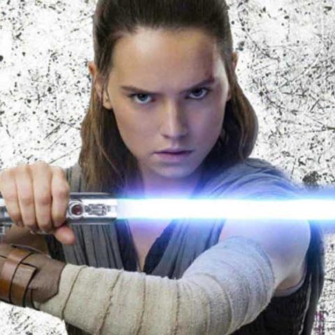 Rey Star Wars Topps