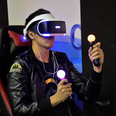 PS VR madrid gaming experience