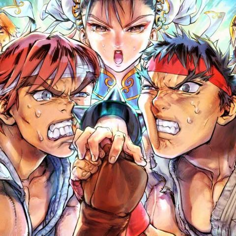 Street Fighter V Arcade Edition - Galería de finales