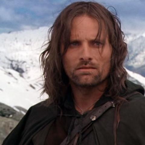 Aragorn en El señor de los anillos
