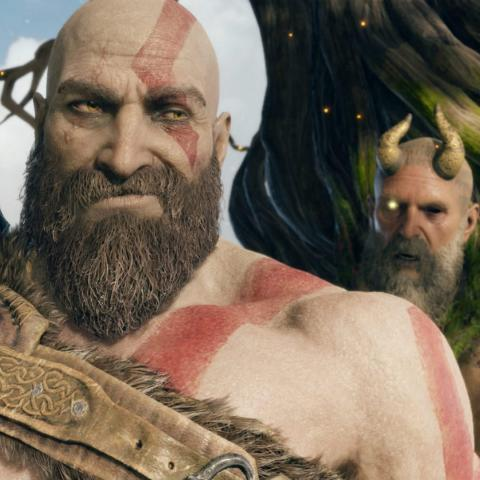 Modo foto God of War