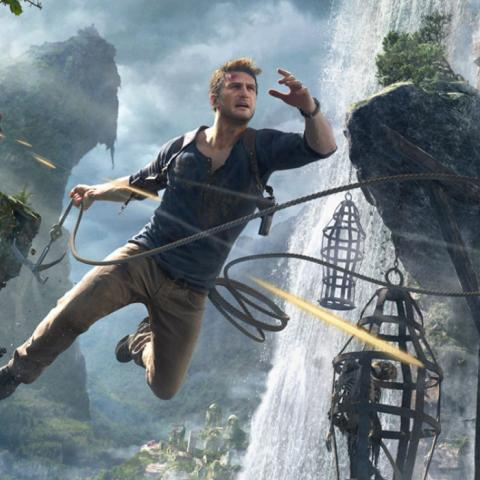 Nathan Drake no recibe disparos en Uncharted