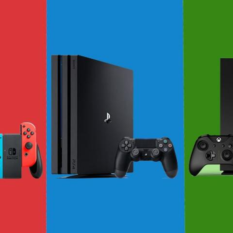 PS4 Xbox One X Nintendo Switch