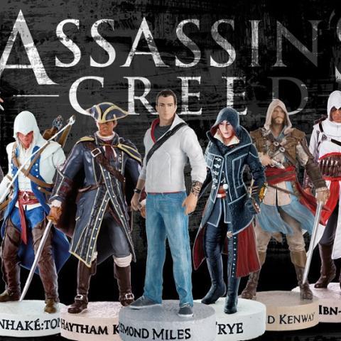 La colección oficial de figuras de Assassin's Creed de Salvat, ya en tu quiosco
