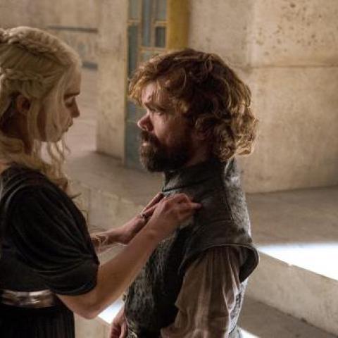 Juego de Tronos - Daenerys y Tyrion