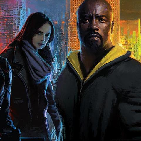 Los Defensores / The Defenders (Daredevil, Jessica Jones, Luke Cage y Puño de Hierro)