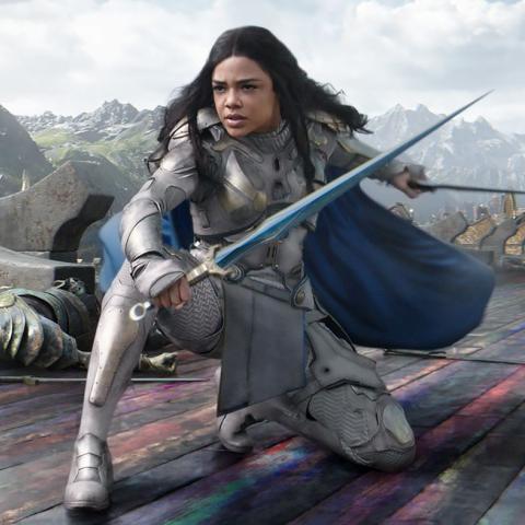 <div>Tessa Thompson, Valquiria, Thor: Ragnarok</div>
