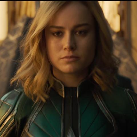 Capitana Marvel en la Fuerza Estelar Kree