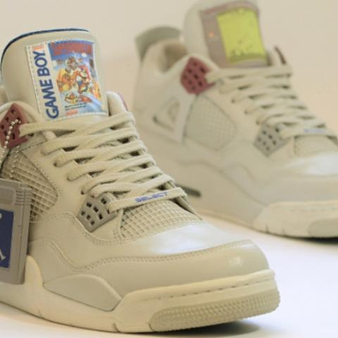 Zapatillas Air Jordans Game Boy