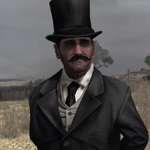 El Hombre Misterioso de Red Dead Redemption