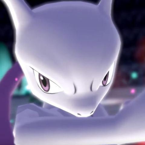 Mewtwo Pokémon Let's Go