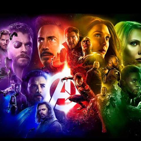 <div>Vengadores: Infinity War(Avengers: Infinity War)</div>