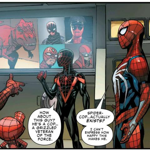 Traje de Spider-Poli