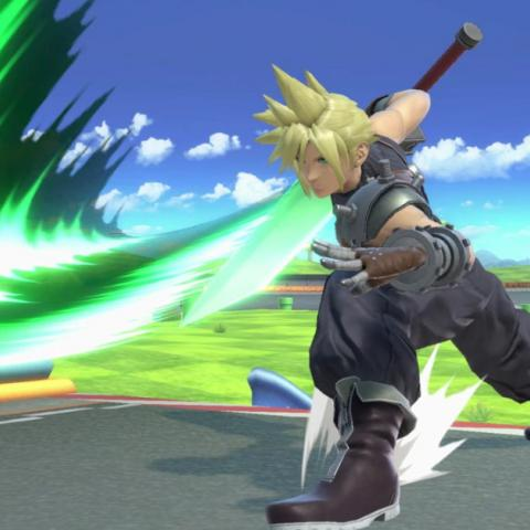 Cloud en Super Smash Bros Ultimate