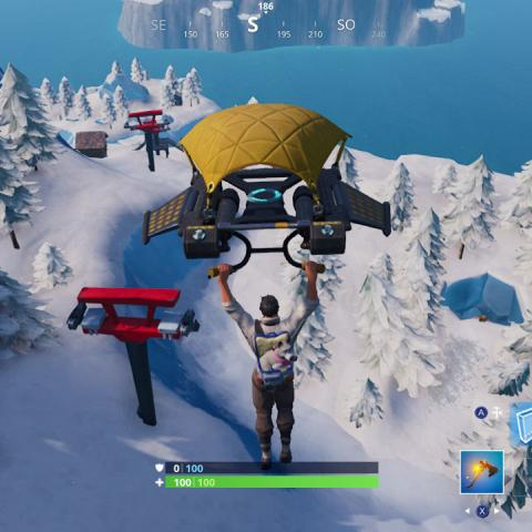 Cueva Yeti Fortnite