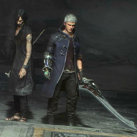 Devil May Cry 5 sistema cameo