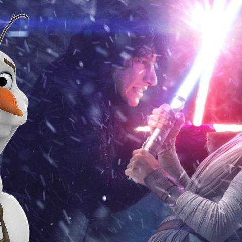 Frozen 2 y Star Wars 9