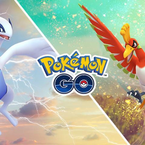 Lugia y Ho-Oh en Pokémon GO