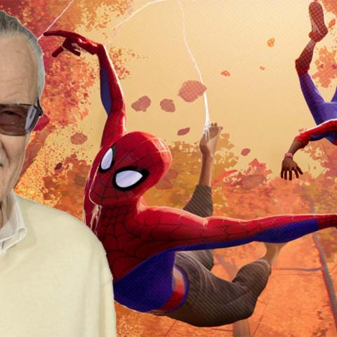 Spider-man: Un nuevo Universo - Los cameo de Stan Lee y otros autores
