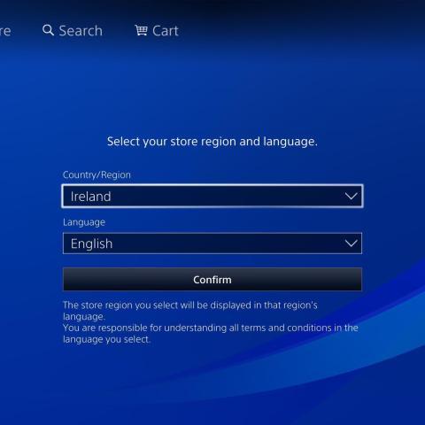 Ya es posible cambiar la región de PS Store en Europa