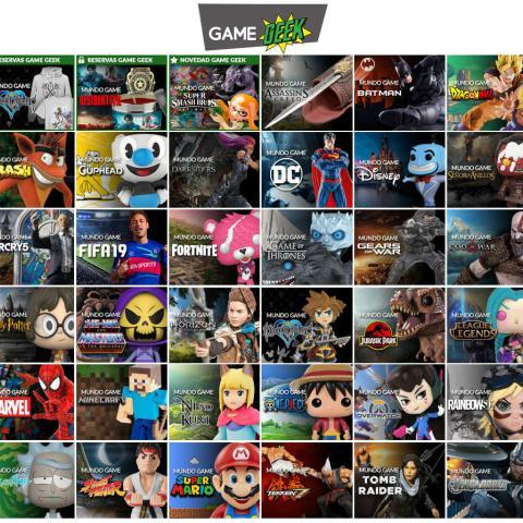 Merchandising Game Geek en Game