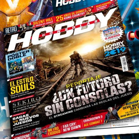 Hobby Consolas 332, a la venta con pósters de Kingdom Hearts III y Anthem