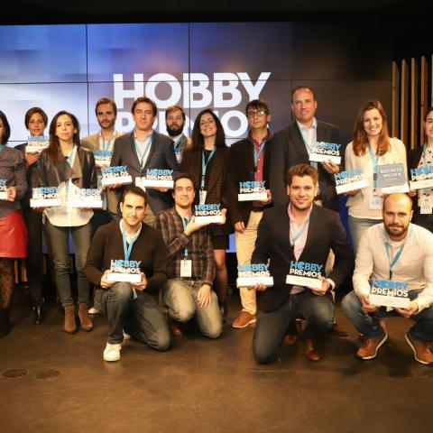 Premiados de los Hobby Premios 2019