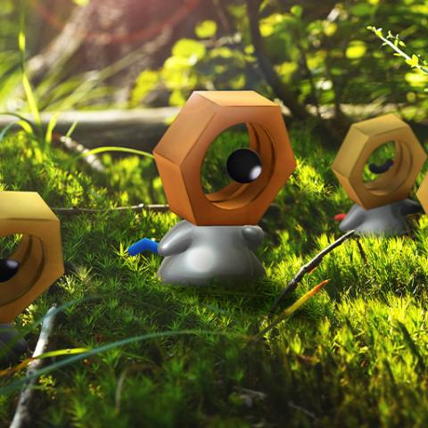 Shiny Meltan en Pokémon GO