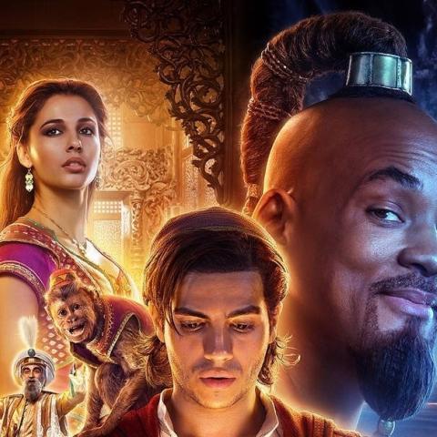 Aladdín - Nuevo póster de la película con todos los protagonistas