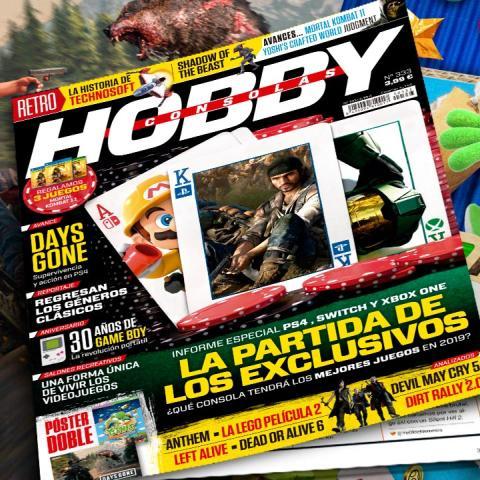 Hobby Consolas 333, a la venta con pósters de Days Gone y Yoshi