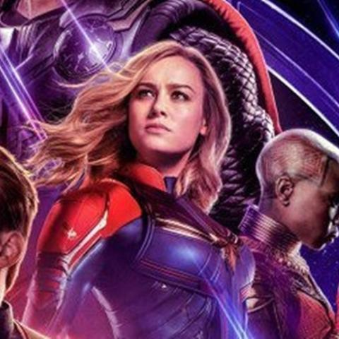 Capitana Marvel Vengadores Endgame